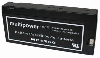 MP1250 12V 2Ah Bleiakku multipower