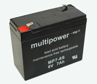 Multipower MP7-6S  6Volt 7Ah