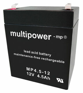 Multipower MP4.5-12 12V 4,5 Ah Bleiakku